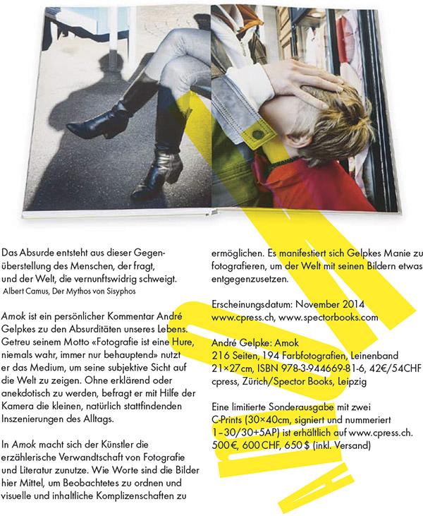 Amok - Buch von André Gelpke